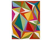 Multicolor Hand-tufted Wool Rug FR 159