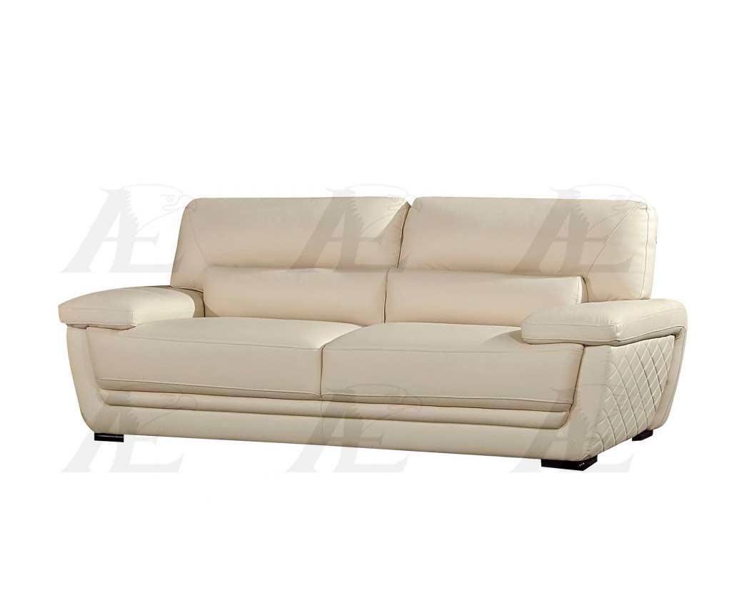 Cream Italian Leather Sofa Set Aek 019 Leather Sofas