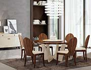 Rosewood Round Dining Table AE 101