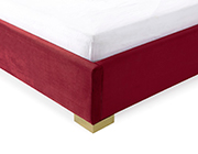 Red Velvet Bed VG Jakline