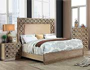 Oak Finish Bed FA 393