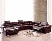 Sectional Sofa with 1 Recliner EF 144