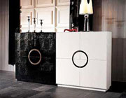 VG 612 White or Black Crocodile Buffet