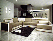 Italian Leather Sectional Sofa Vcal 03