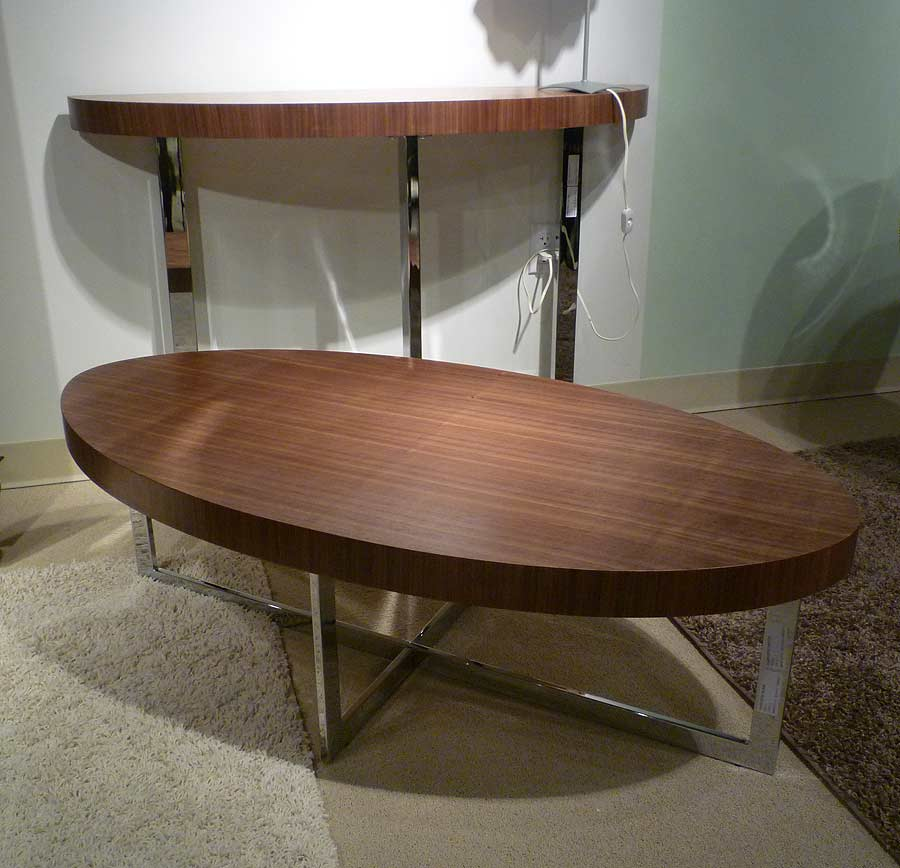 Bn Design High Gloss White And Walnut Coffee Table With 2: Olivia Coffe Table Walnut Or White Lacquer