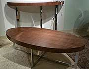 Olivia Coffe table Walnut or White Lacquer