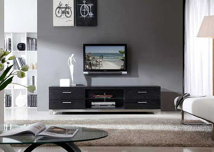 Modern Black Tv Stand Bm3 Tv Stands