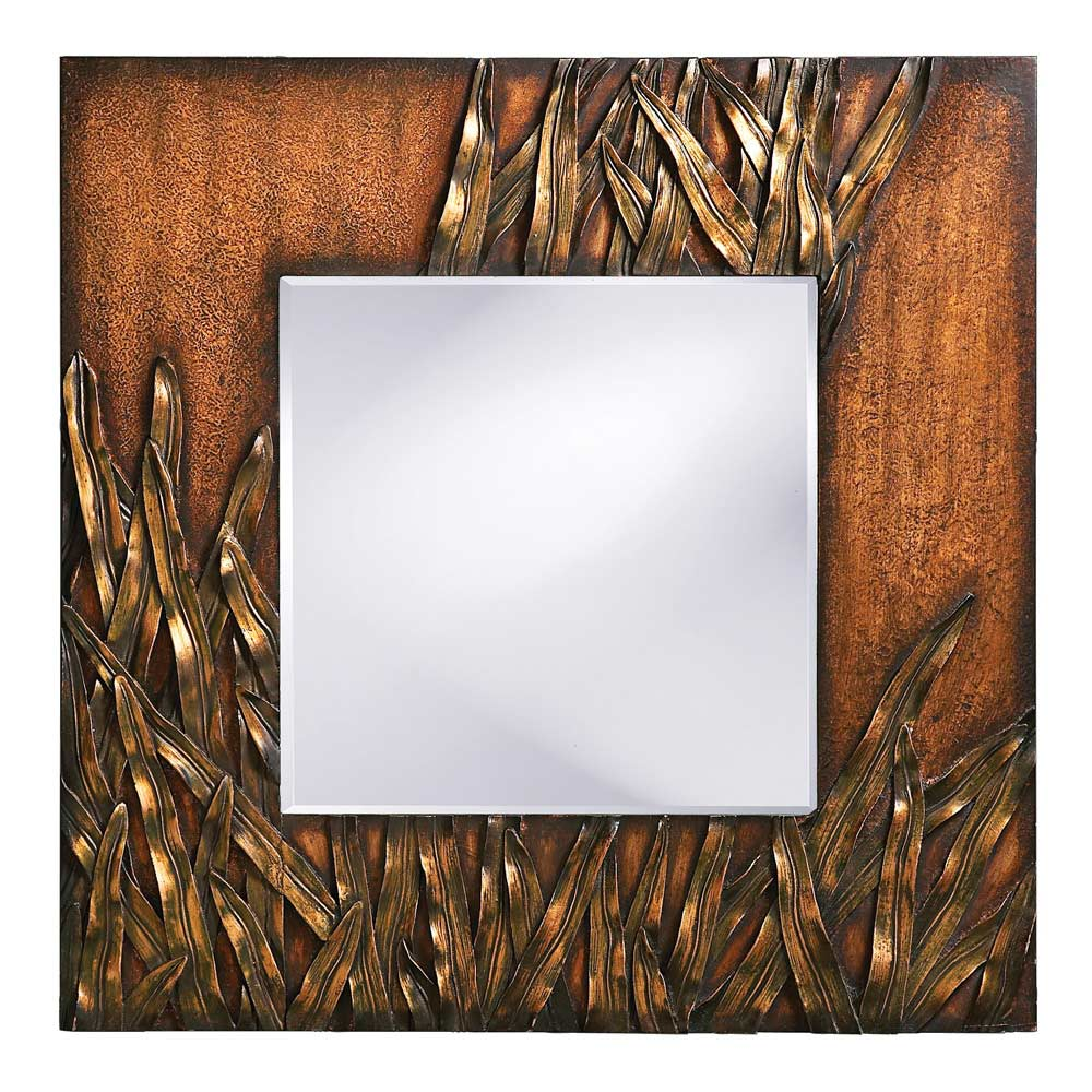 Copper And Bronze Wall Mirror Hre 199 Accent Mirrors