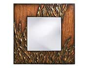 Copper and Bronze Wall Mirror HRE 199