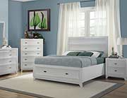 Kristen White contemporary bed HE 262