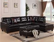 Leather sofa 3 seater W 130