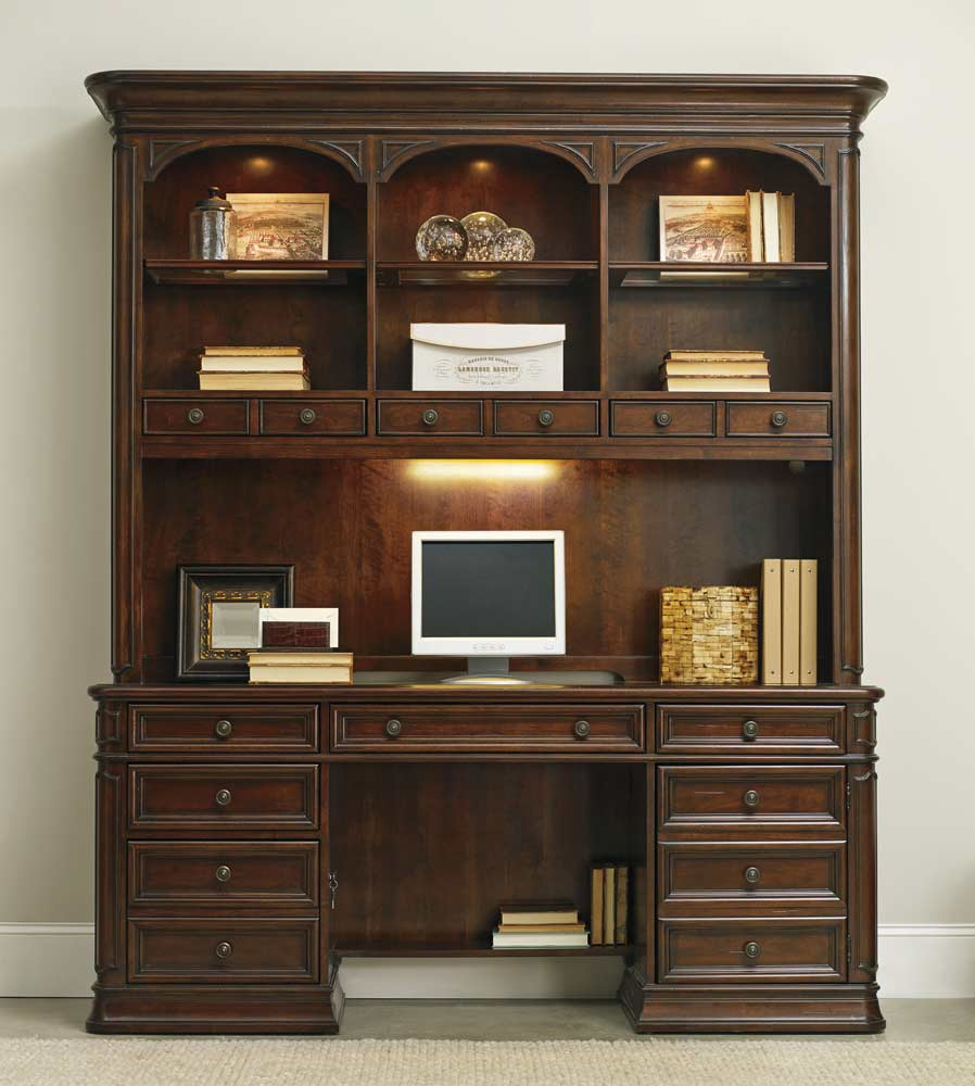 Bon Haddon Hall Computer Credenza By Hooker Furniture