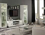 Modern White TV Stand Collection EF Rica