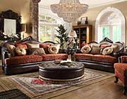 Classic Chenille Fabric Sofa HD 3096