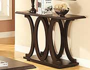 Cappuccino console table CO149