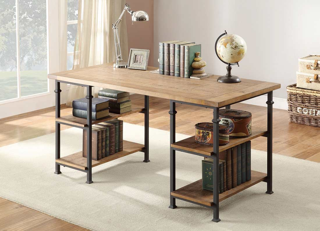 wood writing desks Laptop and writing desk is ideal for bedrooms or home offices made from a blend of medium-density fiberboard and solid wood for durability, and coated with a wood.