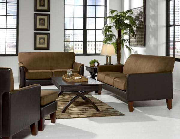 Perry Collection Fabric Sofas