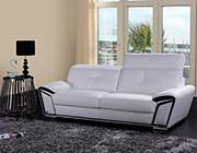White Eco Leather sofa set VG200