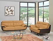 Modern Two-tone Leather Sofa collection GL159