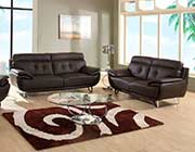 Modern Gray Leather Sofa collection GL405