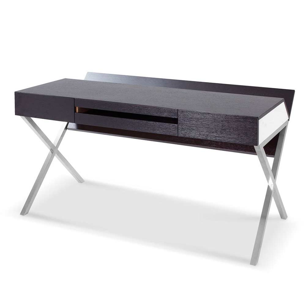 contemporary dark wood office desk. Contemporary Desk Modern Dark Oak Office Desk SJ31 To Contemporary Wood Desk C