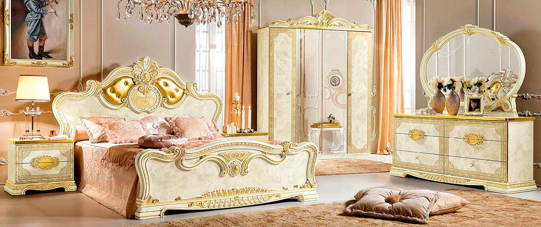 Classic Italian Bedroom EF Eduardo - Avetex Furniture