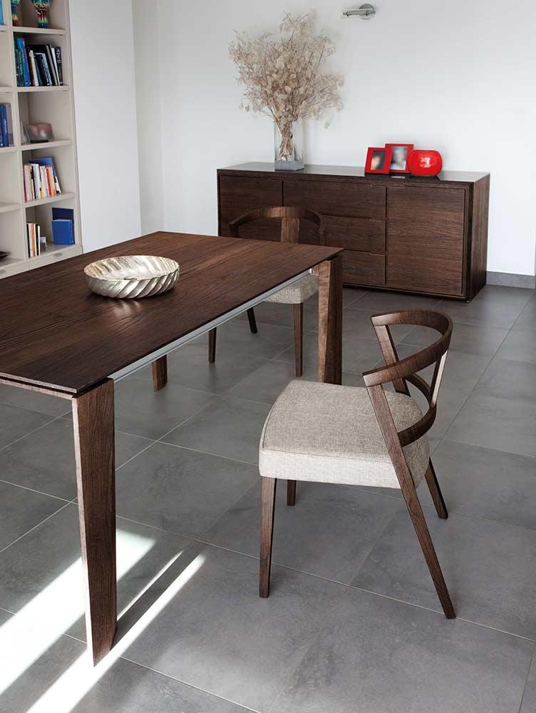 maxim 182 walnut dining table by domitalia domitalia On maxim furniture