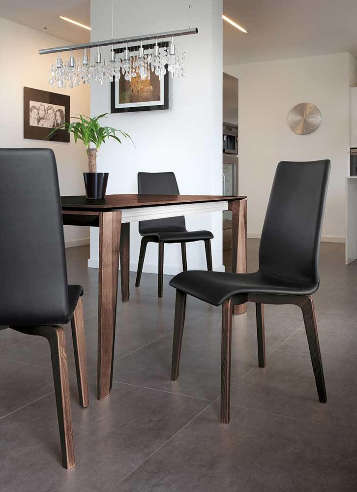 ... Maxim 182 Walnut Dining Table By Domitalia ...