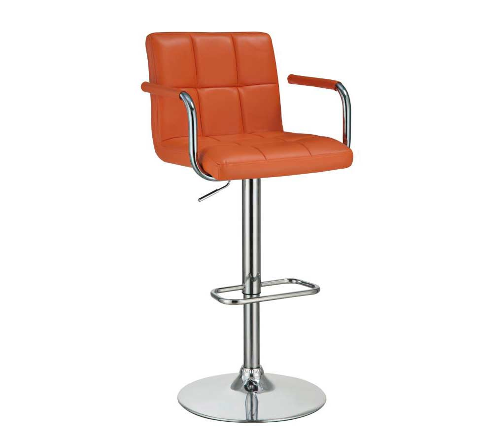 Contemporary Bar Stools ~ Orange modern bar stool co stools