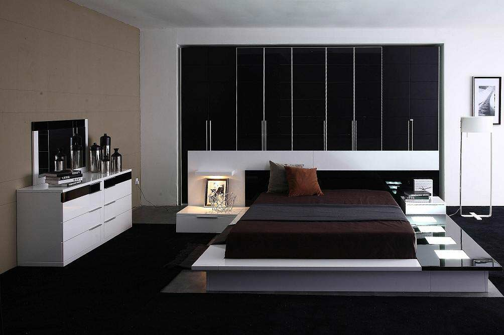 Impera Modern Contermporary Fine Furniture Bed | Contemporary Bedroom