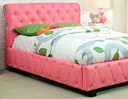 Julia Pink Kids Platform bed