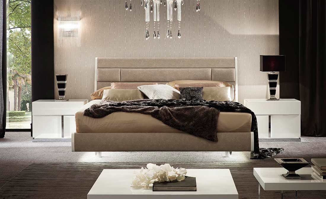Amazing Italian Ecoleather Canova Bedroom By Alf Furniture ...
