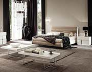 Italian Ecoleather Canova bedroom by Alf furniture