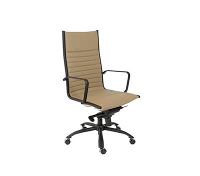 Taupe High back Office Chair Estyle720