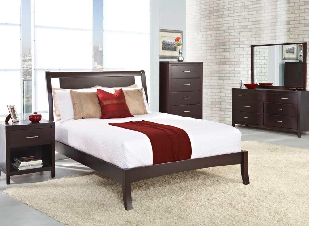 low profile bed ms nile platform beds. Black Bedroom Furniture Sets. Home Design Ideas