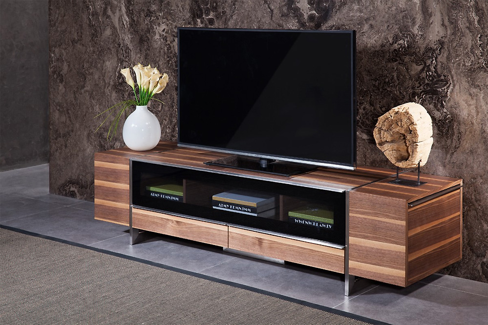 Flora Modern Walnut Tv Stand Tv Stands
