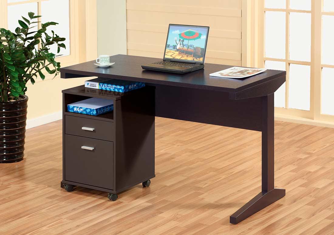 Office Desk with File Cabinet ID447 | Desks