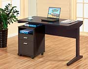 Office Desk with File Cabinet ID447