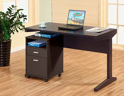 Office Desk With File Cabinet Id447 Desks