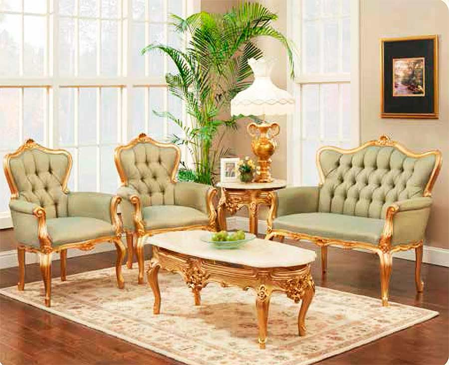 French Provincial Loveseat 7701