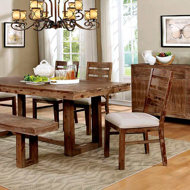 Dining room gt gt modern dining gt gt natural wood dining table set fa358