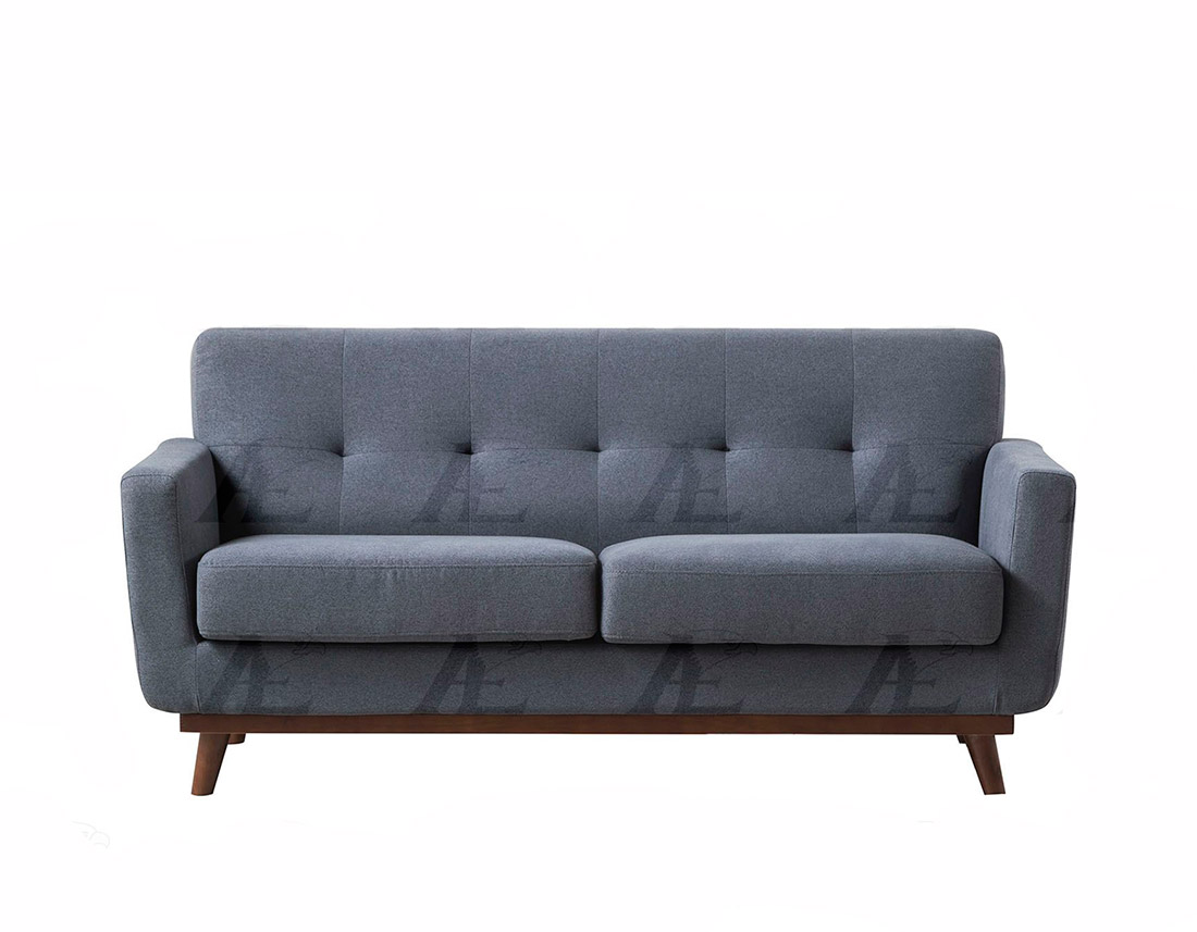 Dark gray fabric sofa collection ae370 fabric sofas for Dark grey couch