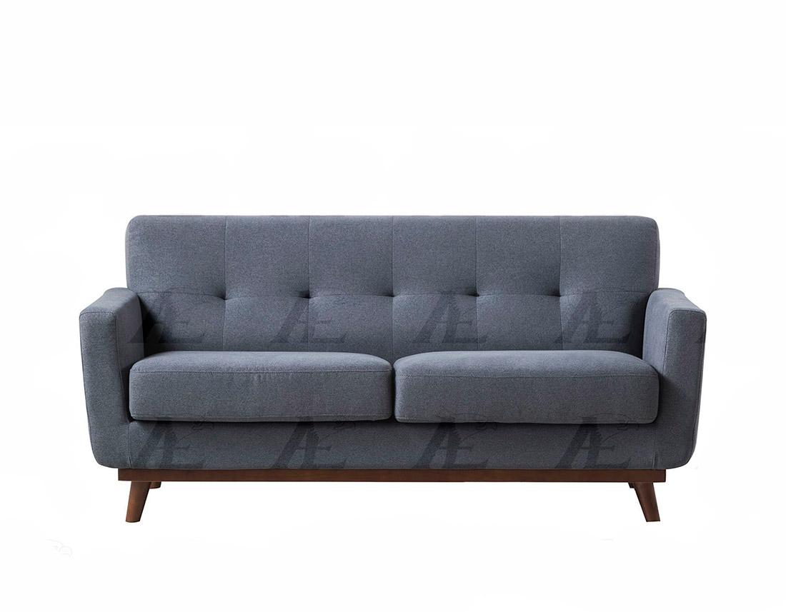 Dark Gray Fabric Sofa Collection Ae370 Fabric Sofas