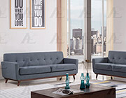 Dark Gray Fabric Sofa collection AE370