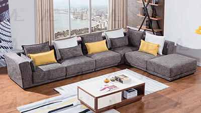 Gray Sectional Sofa AE361