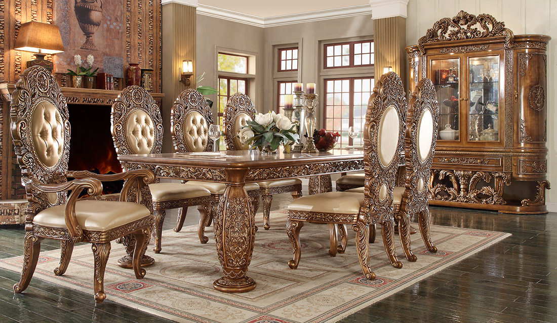 Traditional Dining Table Hd018 Classic Dining