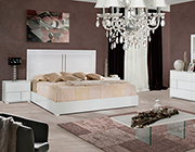 Alle White Gloss Modern Bedroom set