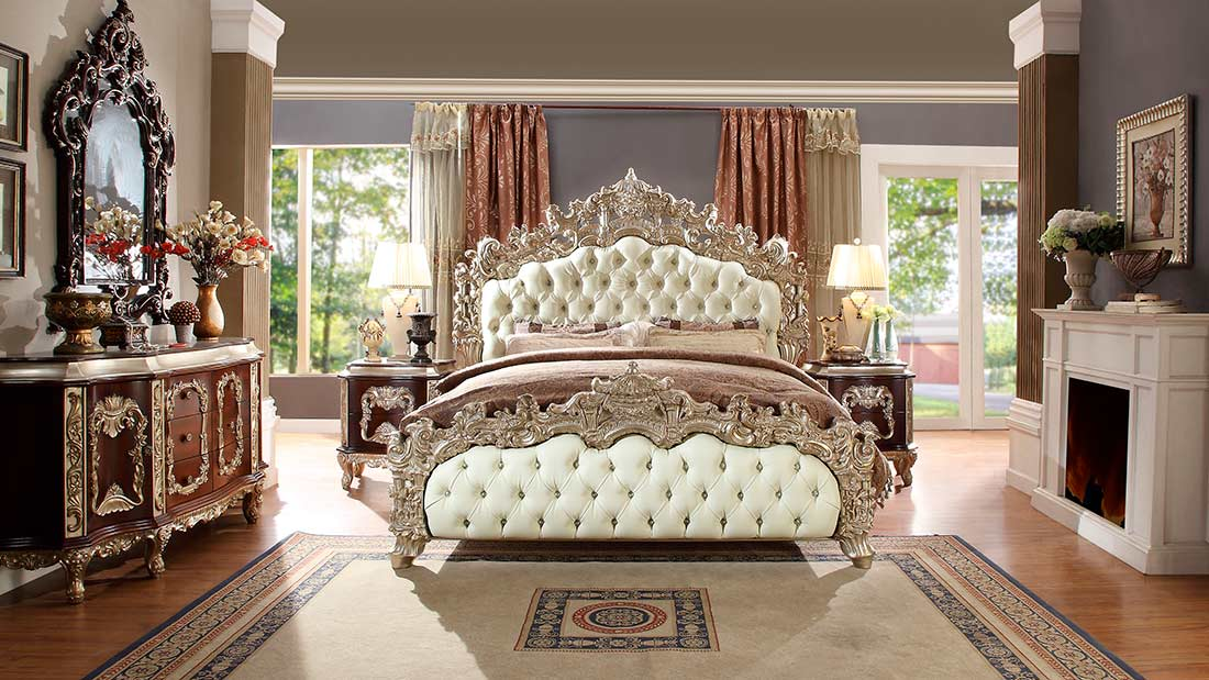 Antique White Bedroom Set Hd 017 Classic Bedroom
