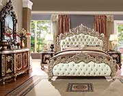 Antique White Bedroom set HD 017