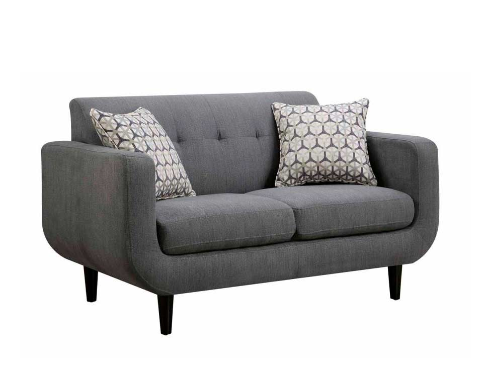 Gray Fabric Sofa Set Co 201 Fabric Sofas